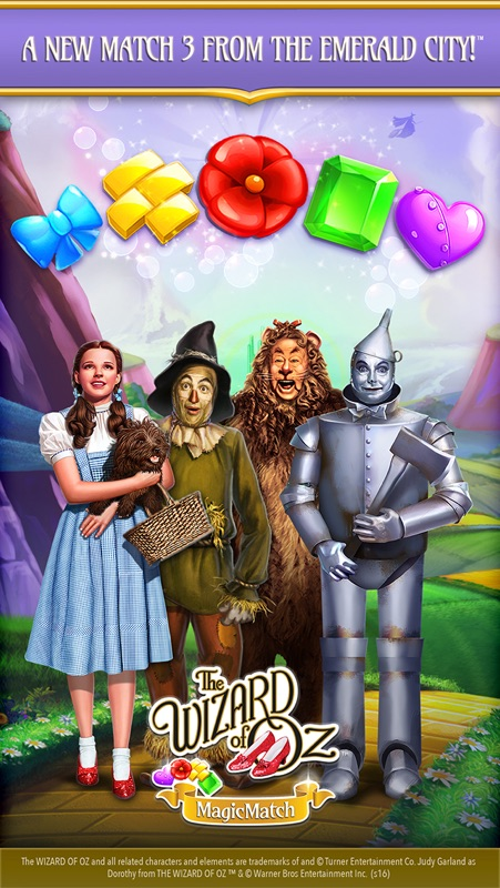 The Wizard of Oz Magic Match 3 Online Hack Tool