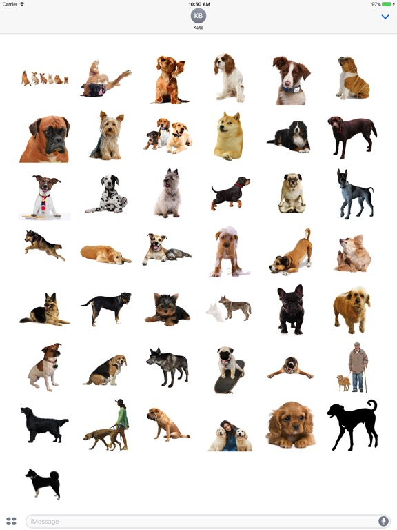 Fun Dogs Stickers! screenshot 5