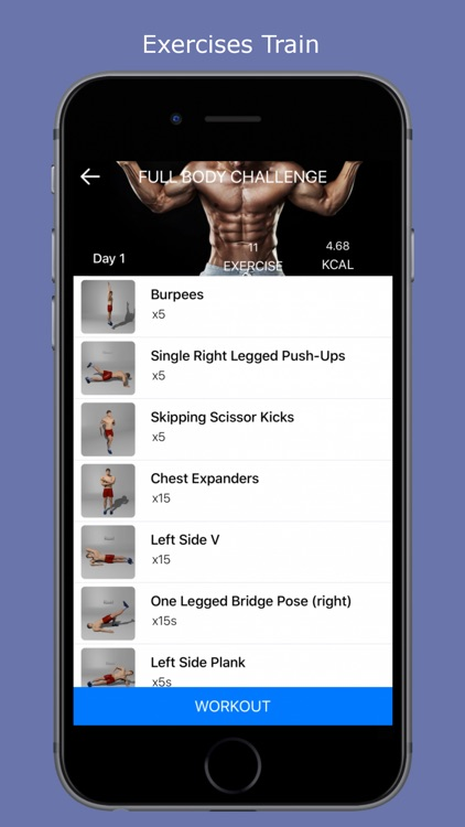 Home Workouts - Fit challenge screenshot-3