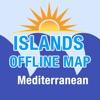 地中海群岛地图