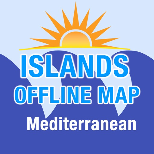 Mediterranean Islands Map