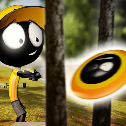 Stickman Disc Golf Battle iOS App