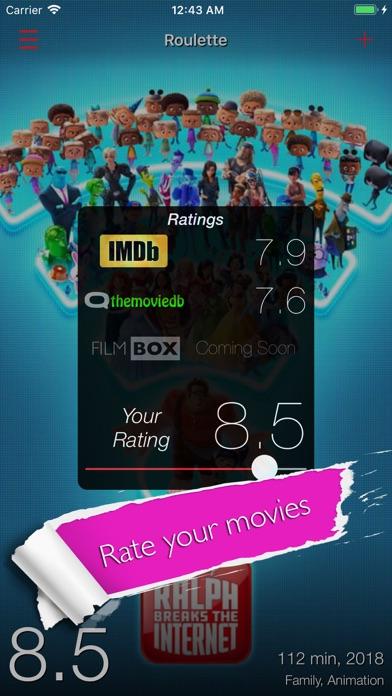 Filmbox: Smart Movie Manager Screenshots