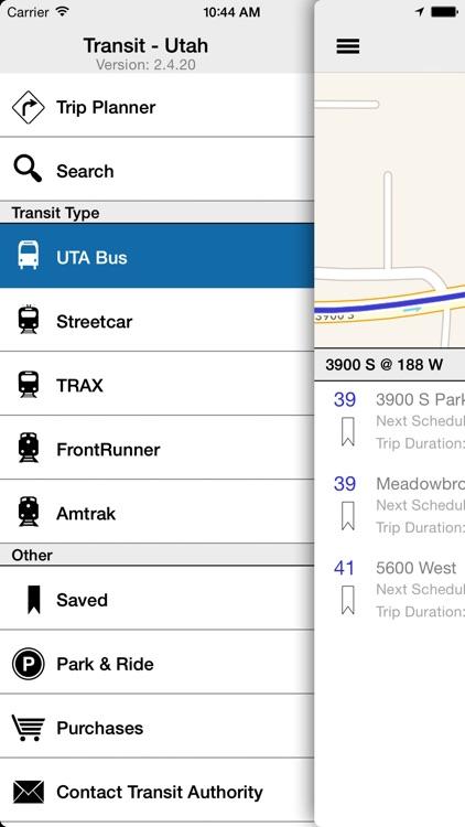 Transit Tracker - Utah (UTA)