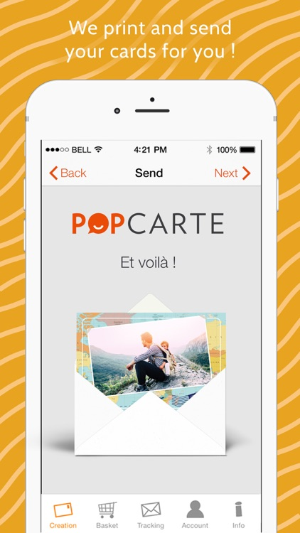 Popcarte -Send real postcards screenshot-3