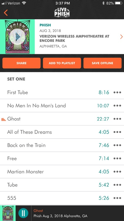 LivePhish screenshot-3