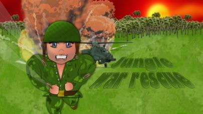 Jungle war rescue screenshot #1