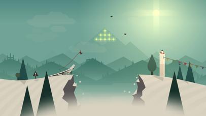 Screenshot from Alto's Adventure