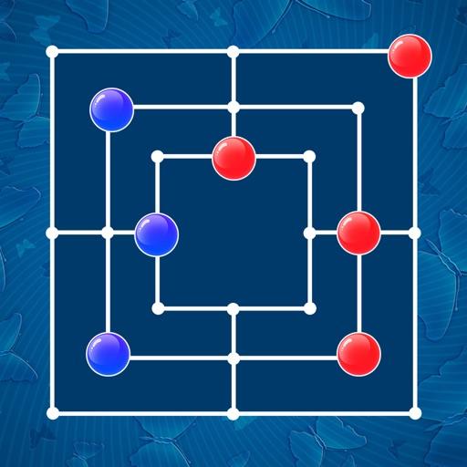 Nine Men's Morris - Strategy Board Game
