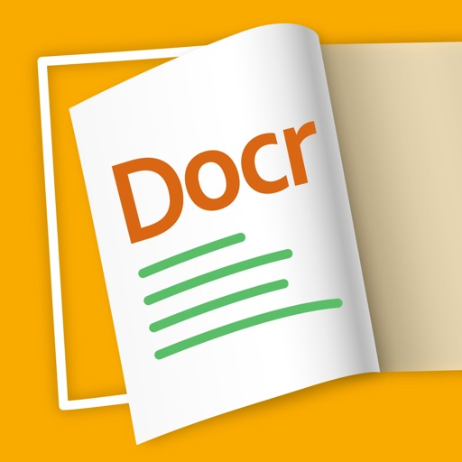Docr Pro - PDF scanner with document image dewarp