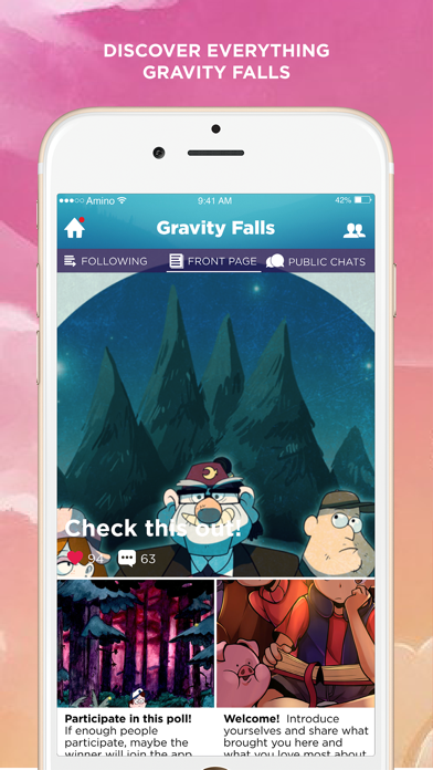 Faller Amino for Gravity Falls-0
