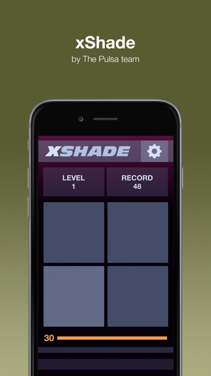 XShade - Puzzle to attention