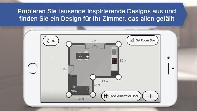 Raumgestalter 3d raumplaner zimmer einrichten im app store
