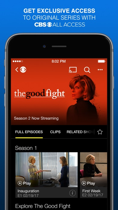 CBS - Full Episodes & Live TV app