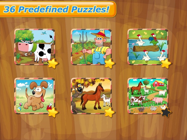 Farm Animals - Puzzle for kids Screenshot