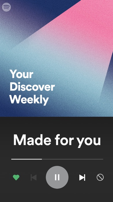 Spotify Music iPhone
