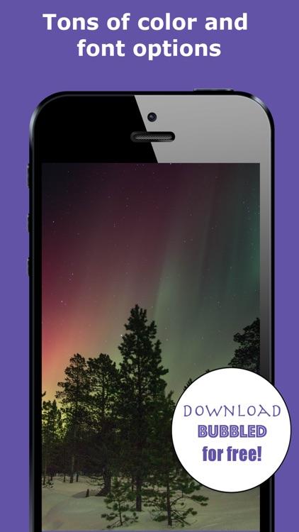 Bubbled - Photo Editor screenshot-3
