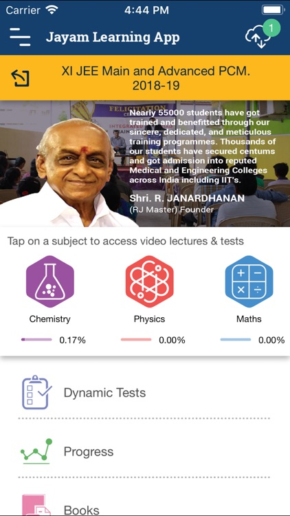 Jayam Learning App