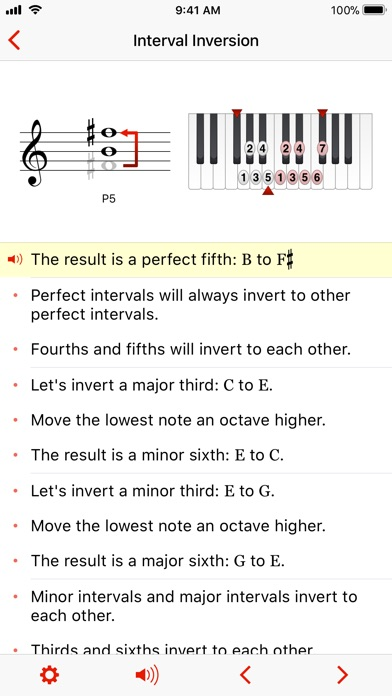 Theory Lessons app image