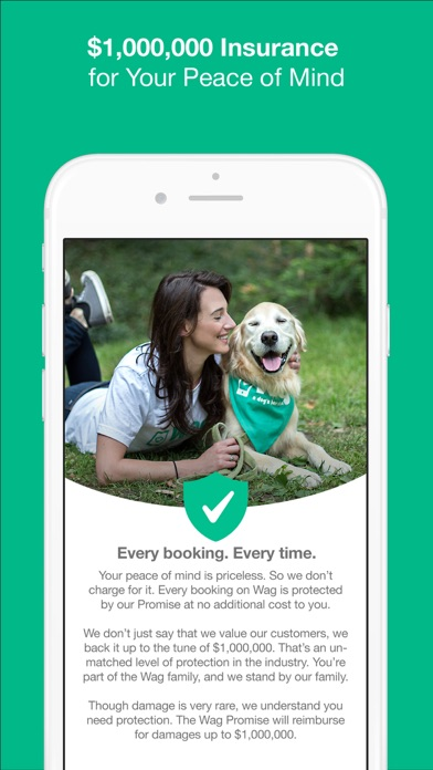 Wag! - Instant Dog Walkers Скриншоты9