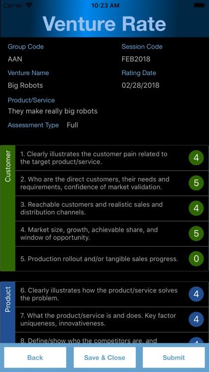 Venture Rate screenshot-3
