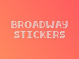 Broadway Stickers for iMessage are the premier sticker pack for fans of the stage