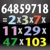素因数分解-Prime Factorization- - iPhoneアプリ