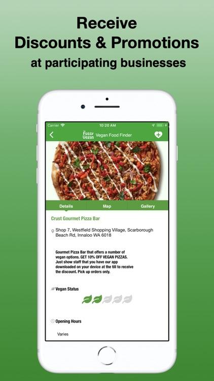 Fussy Vegan Food Finder screenshot-4