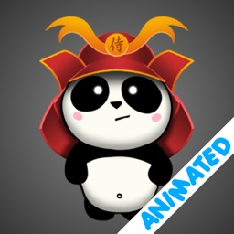 SAMURAI PANDA (animated)