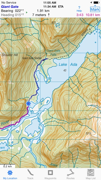 I Hike GPS NZ Topo Maps App Price Drops - Topo maps app for iphone