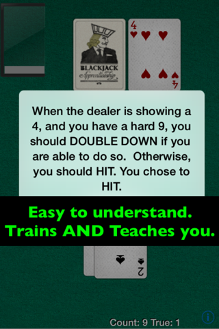 Blackjack Card Counting Pro screenshot 4
