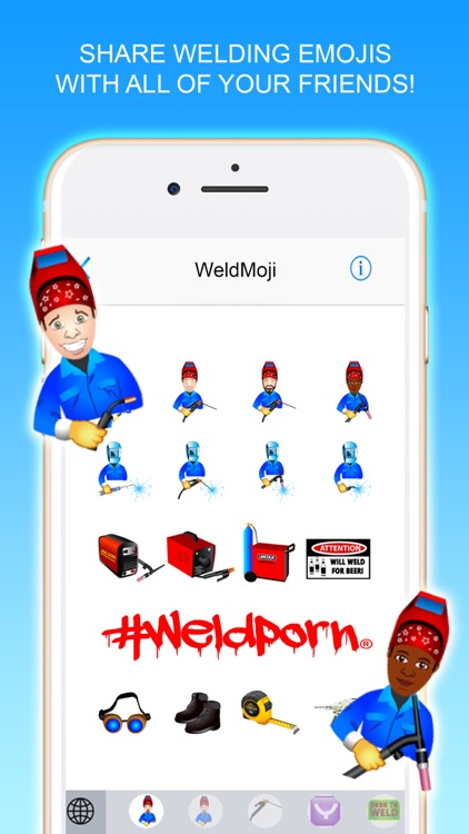 WeldMoji - A welders keyboard!