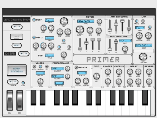 Primer Synth Update | discchord