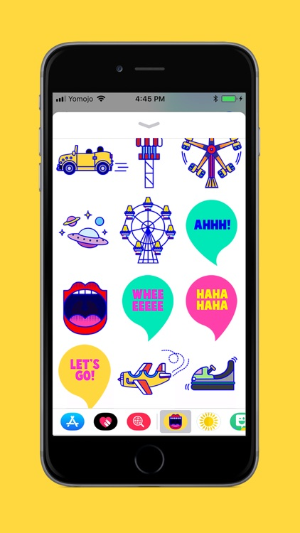 Luna Park Fun Stickers LITE screenshot-1