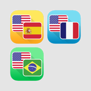 French, Spanish and Portuguese Language Translator Bundle