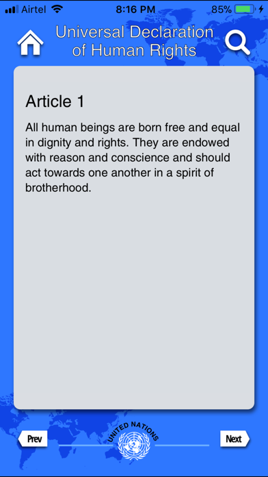 Declaration Of Human Rights review screenshots