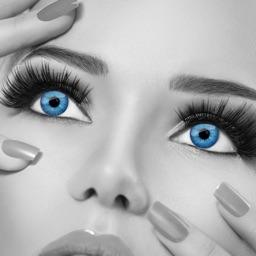 Hair Color & Eye Color Changer