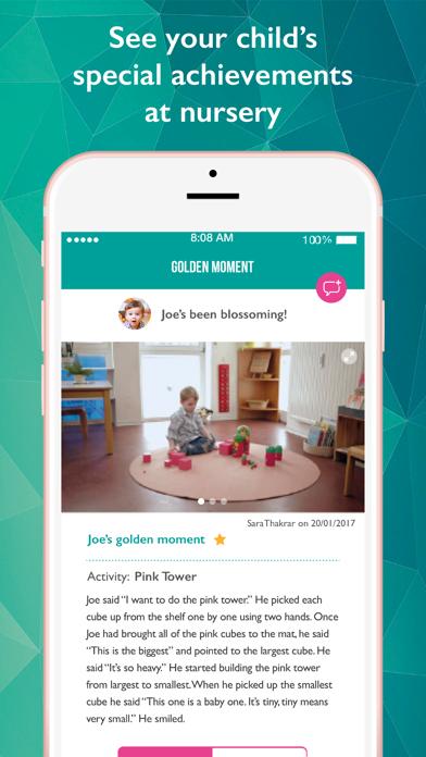 Blossom Parent App screenshot one