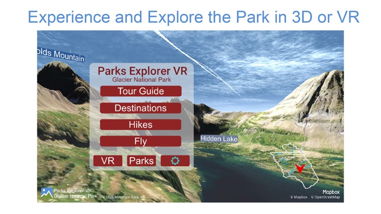 Parks Explorer VR - Glacier screenshot-0