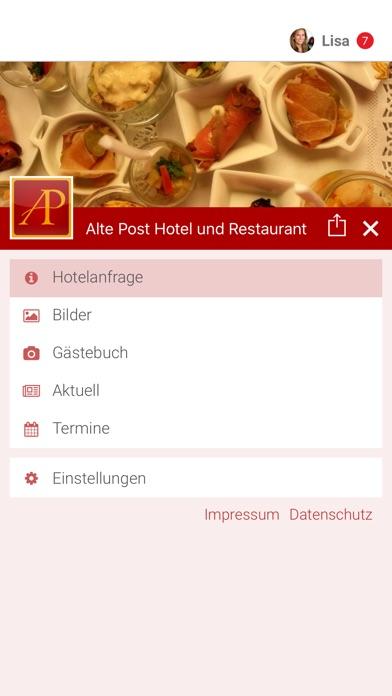 Alte Post Hotel und RestaurantScreenshot von 2