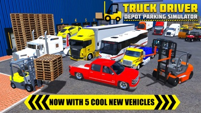 Truck Driver: Depot Parking Simulator Screenshot 5