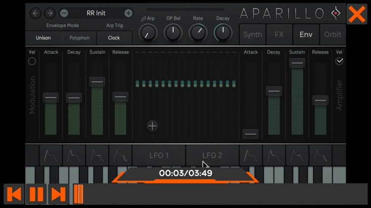 Aparillo Sound Design Course