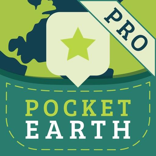 Pocket Earth PRO Offline Maps & Travel Guides