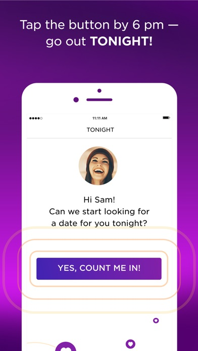 Tonight Dating App Screenshots