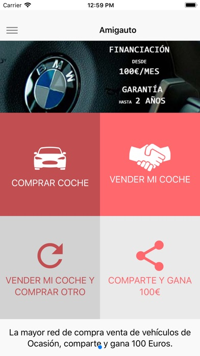 Screenshot for Amigauto in South Africa App Store