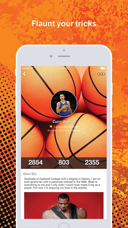 Hoops Amino for Basketball