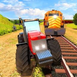 Train vs Tractor Racing