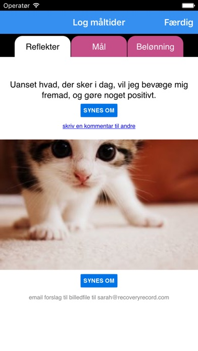 Screenshot for Recovery Record in Denmark App Store