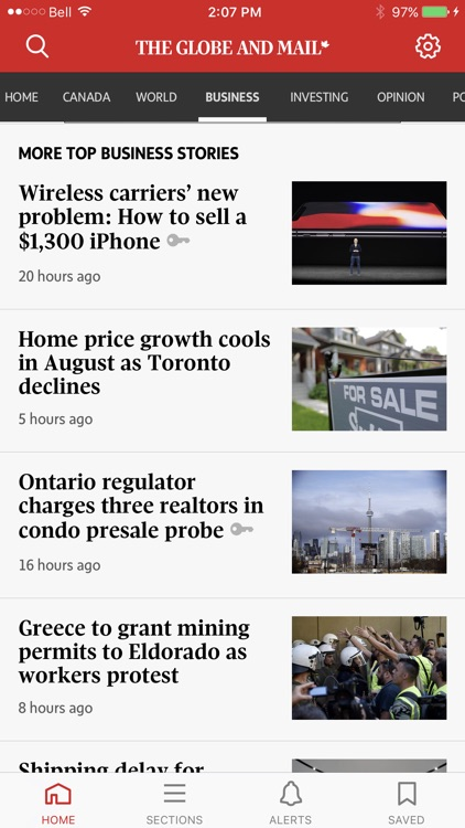 The Globe and Mail screenshot-4