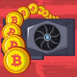 Bitcoin mining: life simulator